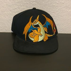 POKÉMON Charizard Embroidered Snapback Hat.